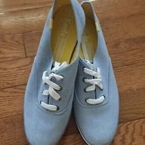 Nwob Keds Size 9 Women's Champion Solids Canvas Chambray Sneaker  Photo