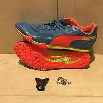 Nwob Puma Men's Bolt Evospeed Electric Track and Field Shoe Size 11.5 Photo