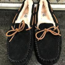 Nwob Womens Ugg Dakota Black Slippers-Size 10-Msrp 100- 5612 Photo