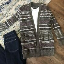 Nwot Abercrombie Fitch Cashmere Blend Cardigan Sweater Sz S Small Knit Long Photo