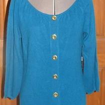 Nwot Anne Klein Cashmere Sweater  Sz M (T04x5s) Photo
