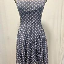 Nwot Anthropologie Weston. Gray Polka Dots Dress. Sz. Xs Photo