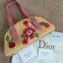 Nwot Authentic Christian Dior Limited Edition Satchel.  Photo
