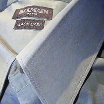 Nwot Balmain Paris Men's Luxury Shirt. Photo