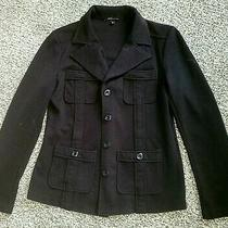 Nwot Bcbg Max Azria Black Size Medium Blazer Jacket  Photo
