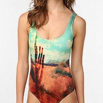 Nwot Billabong Nina Desert Cactus One-Piece Swimsuit Size M Photo