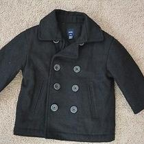 Nwot Boys 18-24 Mo Baby Gap Pea Coat  Photo