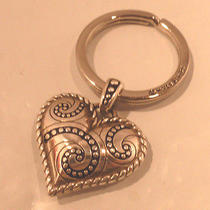 Nwot Brighton Bianca Heart Key Chain Ring Fob E15340 Photo