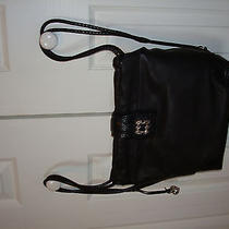 Nwot Brighton Black Leather Backpack--Beautiful Gift Photo