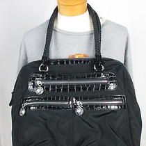 Nwot Brighton Bobbi Large Satchel Twister Collection Microfiber Handbag Purse Photo
