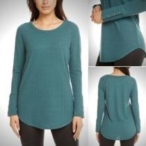 Nwot Chaser Teal Button Cuff Thermal Size M Photo