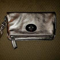 Nwot Coach Clutch Wristlet Metalliclimited Edition Rose Gold/bronze Photo