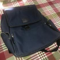 Nwot Coach Navy Blue Backpack. Lots of Pockets. Ipad or Computer Holder Photo