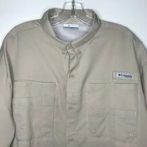 Nwot Columbia Mens Pfg Tamiami Ii Omni-Shade Short Sleeve Shirt Sz Xl Photo