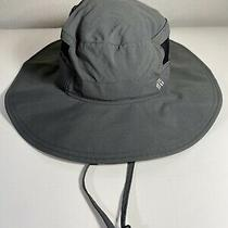 Nwot Columbia Unisex Os Gray Bora Bora Ii Booney Hat 50 Upf Sun Protection Photo