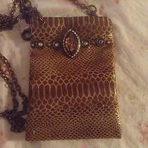 Nwot Cross Body Opera/cell Phone Bag Photo