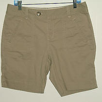 Nwot Eddie Bauer Size 10 (33) Mercer Fit Khaki Shorts Stretch 152-5018 Photo