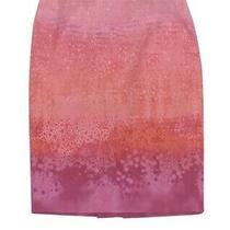 Nwot Elie Tahari Penelope Pencil Skirt Pink Bloom 8 Photo