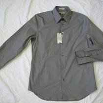 Nwot Express 1mx Cast Iron Fitted Men's Dress Shirt Sz Xs Photo