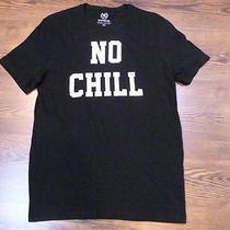 Nwot Express Black No Chill Graphic Men's Tee Sz L- Photo
