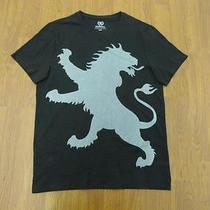 Nwot Express Black Oversize Lion Men's Graphic Tee Sz Xs- Photo