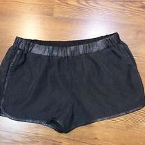 Nwot Express Black Suede Shorts Sz M Photo