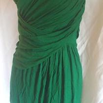 Nwot Express Bright Green Gathered Sun Dress Large Removable Straps Photo