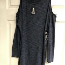 Nwot Express Cold Shoulder Sweater Dress Sz Small S Photo