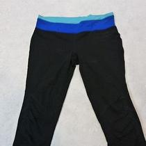 Nwot Express Color/block Waistband Cropped Legging L Photo