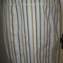 Nwot Express Design Studio Striped Fall Skirt 8 Free Ship Photo