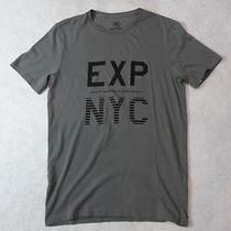Nwot Express Gray Exp Nyc Graphic Men's Tee Sz S- Photo