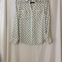 Nwot Express Horseshoe Portofino Shirt Blouse Top - S (Measurement in Pic) Photo