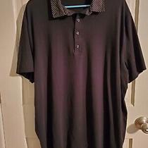 Nwot Express Men's Black Polo Shirt - Xxl Photo