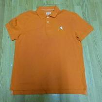 Nwot Express Orange Small Lion Men's Polo Shirt Sz L- Photo