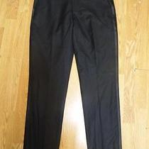 Nwot Express Photographer Black Tuxedo Men's Pants 33x32 Photo
