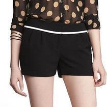 Nwot Express Pleated Black Shorts Sz 4 Photo