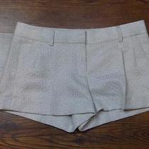 Nwot Express Shimmery Print Shorts Sz 6 Photo