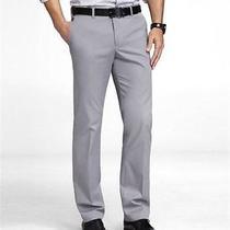 Nwot Express Slim Photographer Stretch Cotton Cast Iron Dress Pants 32x29(as Is) Photo