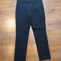 Nwot Express Stretch Cotton Innovator Skinny Black Mens Dress Pant 33x31(as Is) Photo