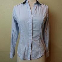 -Nwot Express the Original Long Sleeve Essential Shirt Sz Xs- Photo