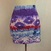Nwot Express Tie Dey /studded Min Skirt Sz S Photo