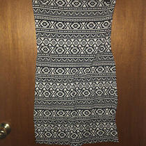 Nwot Express Tribal Print Strapless Dress Size Xs Photo