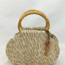 Nwot Forever Fossil Basket Weave Handles Messenger Crossbody Handbag Key Photo