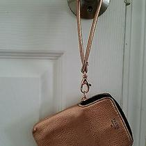 Nwot Fossil Phone Wristlet - Rose Gold Metallic Photo