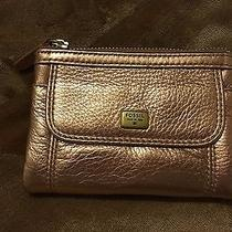 Nwot Fossil Wallet - Beautiful Gold Color Photo