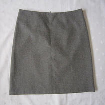 Nwot French Connection Women's Wool Blend Above Knee Gray Skirt  Size 4 Photo