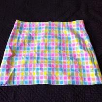 Nwot Fun Lilly Pulitzer Mini Skirt Size 8 Photo