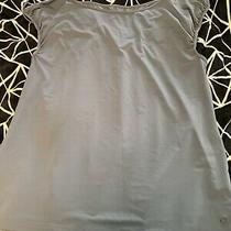 Nwot Gap Body Fit Athletic Wicking Tank Top Blue Large 29.50 Photo