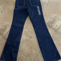 Nwot Gap Kids Girls Boot Cut Dark Washed Jeans 10 Reg Preowned Abercrombie Top Photo