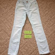 Nwot Girls Size 8 Slim Justice Skinny Jeans Light Aqua Never Worn Photo
